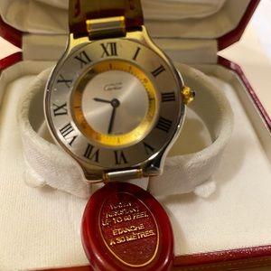 Cartier Gents LeMust Watch